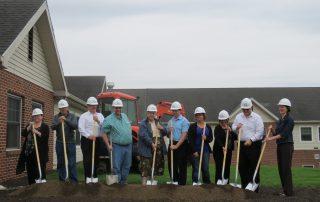 United Zion Retirement Community Expansion Groundbreaking