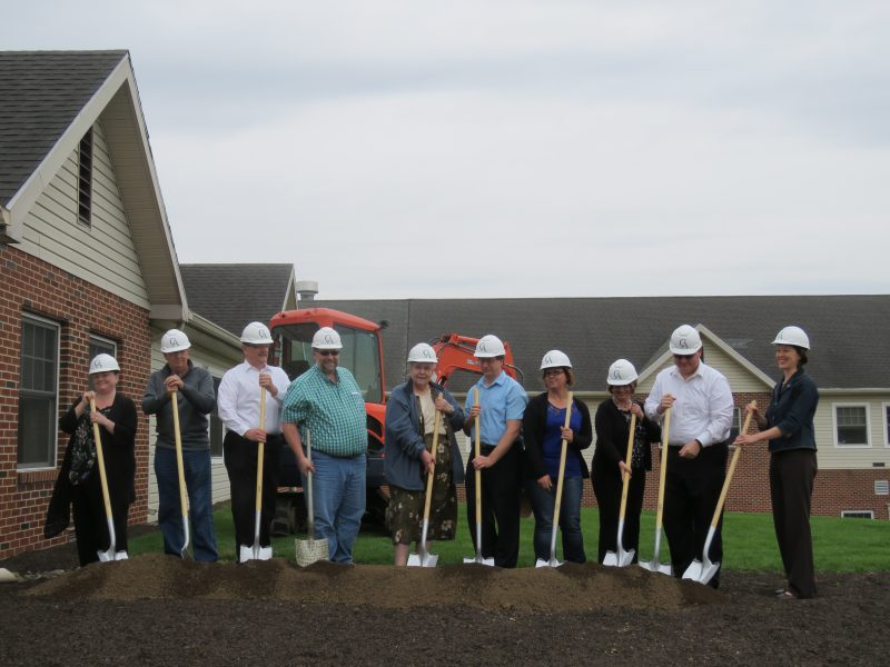United Zion Retirement Community Expansion Groundbreaking