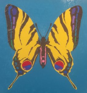 """Craig Andrews's GravelWorks series """"Tiger Swallowtail""""."""