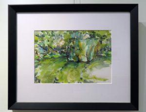 Brian Lehman's Watercolor Work