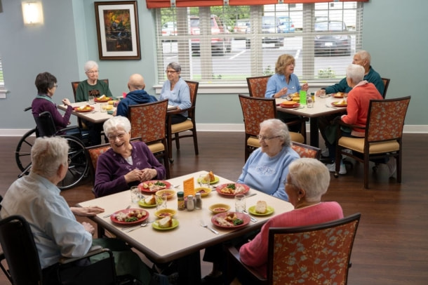Dining Facility at United Zion Retirement Community in Lancaster County, PA