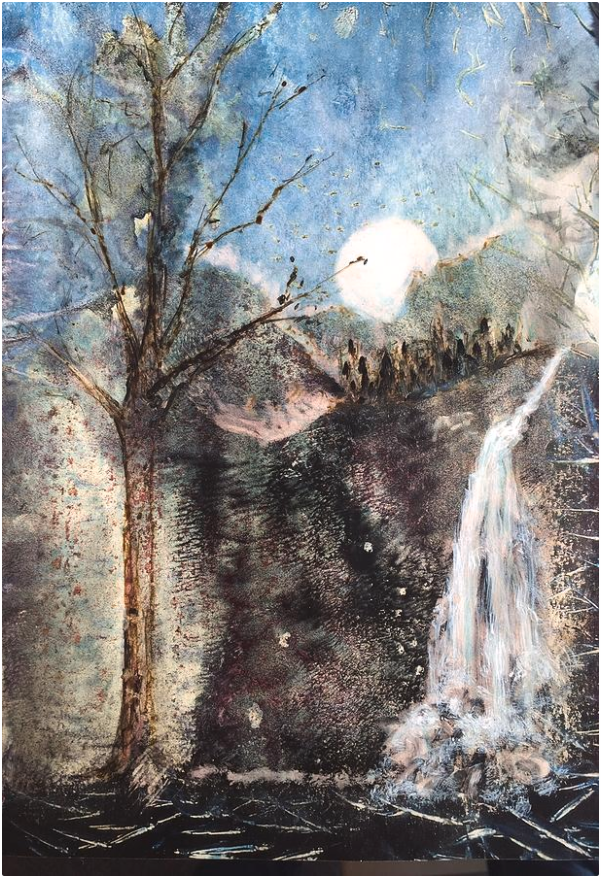 Moonlight Water by Suze Moll
